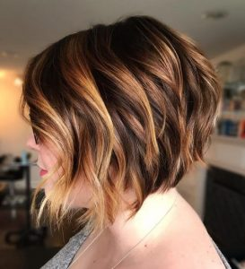 Bob with Highlighted Top Layers