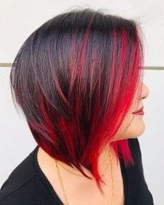 Fiery Red Layers