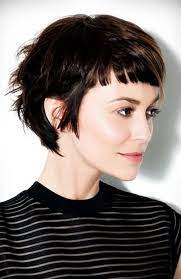 Simple Layered Pixie with Bangs