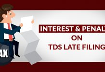Interest & Penalty on TDS Late Filing