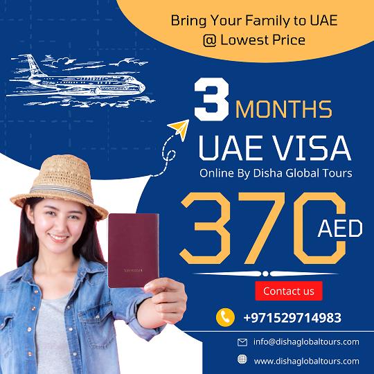3 Months UAE Visa
