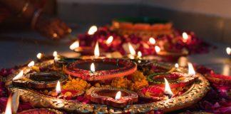 send diwali flower